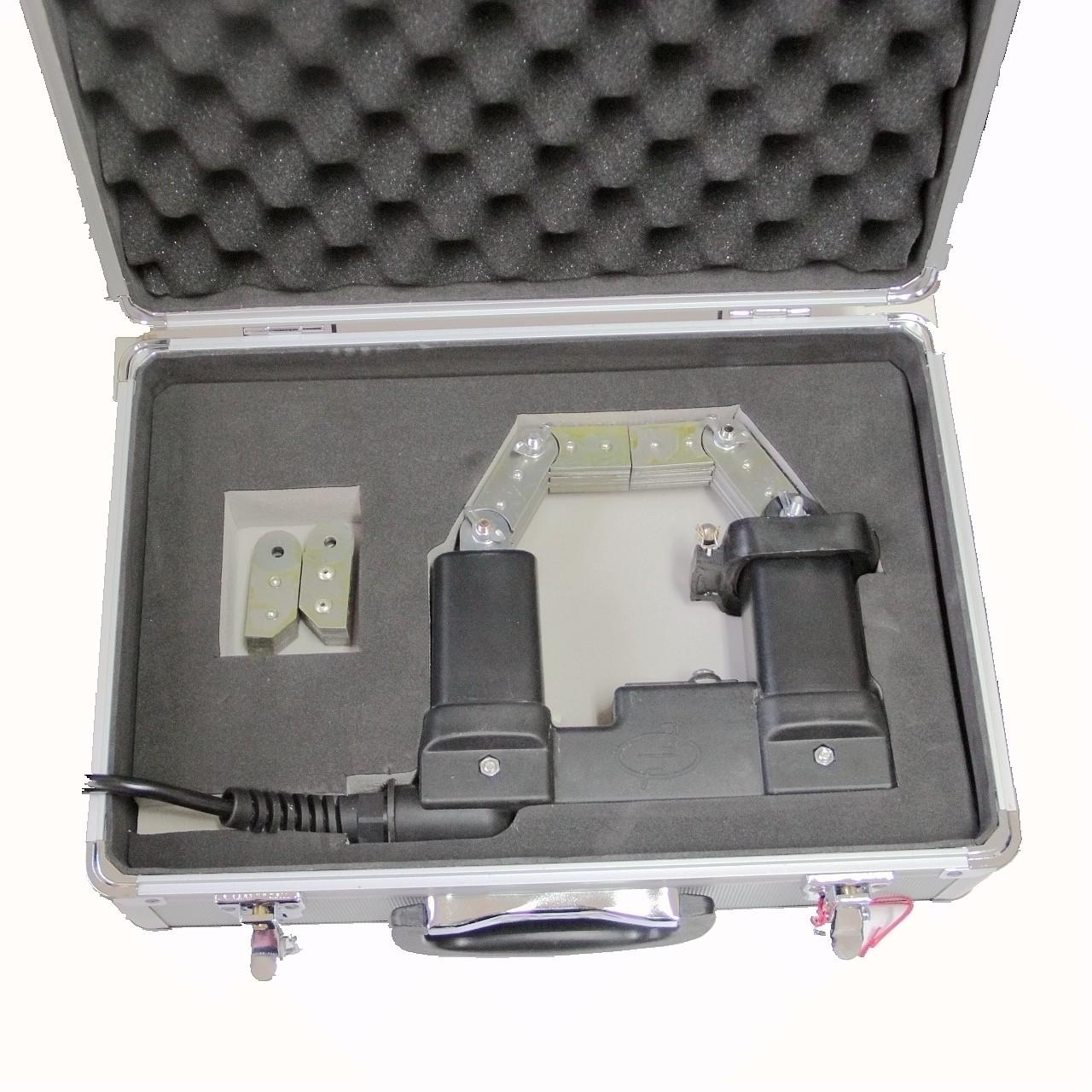 ASTM E709 230VAC Magnetic Particle Testing Equipment Flaw Detection Black Color Manufactures