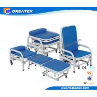 Two Function Foldable Accompanier Hospital Transfusion / blood extraction chair Manufactures