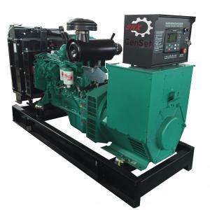 125Kva Diesel Generator Cummins Power 6BTA5.9-G2 Rating 1500RPM Open Genset Manufactures