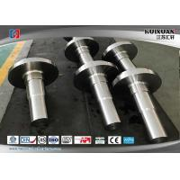 Rough Machined Forged Steel Flanges Open Die Forging Rustproof Manufactures