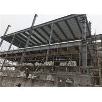 Customized Size Steel Frame Structure Building / Multi Storey Construction Manufactures