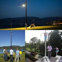 200w wind-solar hybrid light system Manufactures