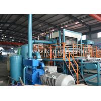 Siemens Motor Waster Paper Egg Tray Machine 400-12000pcs / Hour Production Speed Manufactures