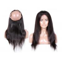 7A 130% Density Full Lace Frontal Closure , 360 Lace Frontal Closure With Baby Hair Manufactures