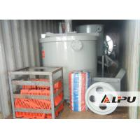 Quality Stainless Steel Agitation Leaching Tank / Agitator Effective Volume 11m³ Ore for sale