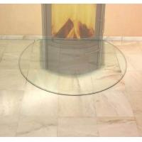 CE EN12150 Standard Resistance Glass Hearth Plate 6mm Thickness Tempered High Pressure Manufactures