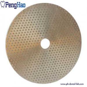 Buy cheap Abrasive Material Diamond Disc Dental , Diamond Polishing Disc Trimmer from wholesalers