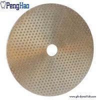 Buy cheap Abrasive Material Diamond Disc Dental , Diamond Polishing Disc Trimmer from wholesalers