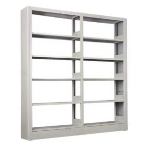 KD 1.2mm 1.8m Double Sided Library Bookshelves Manufactures