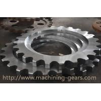 Non - Standard Aluminum Motorcycle Chain Sprockets Industrial Machinery Parts Manufactures