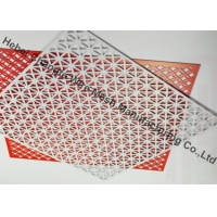 China Powder Coated Slot Cold Rolled Plate Perforated Metal Mesh Screen on sale