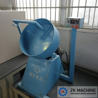 China Stable Running Zinc Sulphate Pan Granulator High Rate Of Finished Products on sale