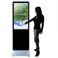 Touch Screen Floor Standing Kiosk With Integrated Android IOS Player Manufactures