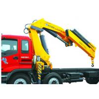 High Lifting Capacity 14T Knuckle Boom Truck Mounted Crane For Transporting Heavy Things Manufactures