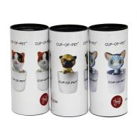 China Eco-friendly Lovely Cartoon Designed Cardboard Paper Cans Packaging for Pet Supplies Pet Products on sale