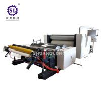 2-10 MPa ALU Foil Embossing Machine With Automatic Tension Control Manufactures