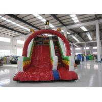Inflatable Rutsche Kids Blow Up Water Slide , Colourful Water Bounce House Manufactures
