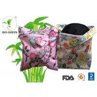 Hypoallergenic Cloth Bamboo Nursing Pads Acceptable Printed Logo And Color Manufactures