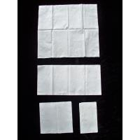 Virgin Wood Pulp Dinner Napkins White Paper Tissue support 1/8 fold Manufactures
