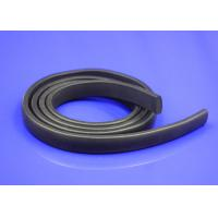 Square Silicone Door Foam Seal Strips , Shear Bonding Extruded Rubber Strips Manufactures