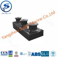 Buy cheap Cast Steel Open Type Three Roller Fairlead with Stand for Ship JIS F2014-1987 from wholesalers