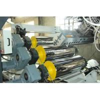 High Tension Fireproof Conical Pvc Sheet Production Line 0.5 - 2mm Sheet Thickness Manufactures