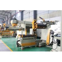 AirCylinder Overall Offser Decoiler Straightener Feeder For Electrical Appliance Continuous Pressing Production
