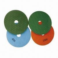 Flexible Diamond Wet Polishing Pads, Used to Polish Marble Granite and Other House Materials. Manufactures