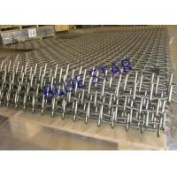 304 / 316 Stainless Steel Mining Screen Mesh Light & Heavy Type For Filter / Decorative Manufactures