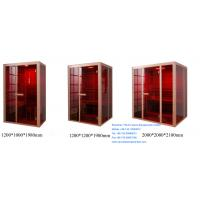 China 1200mm x 1000mm x 1980mm Far Infrared Sauna Cabin on sale