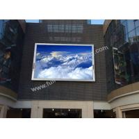 Cheap P20 outside large full color led display screen sign board for wall Mounted for sale