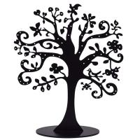 Transparent Acrylic Jewelry Display Custom Black Acrylic Tree Display For Jewely Manufactures