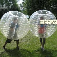CE Inflatable Bumper Ball 1.0mm PVC Inflatable Zorb Ball For Soccer Games Manufactures