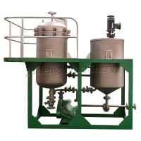 Buy cheap NYB small size low capacity stainless steel vertical pressure leaf filter from wholesalers