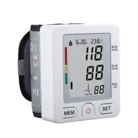 FDA Auto Digital Wrist Blood Pressure Monitor LCD Memory WHO Indicator US stock Bluetooth Manufactures