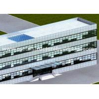 China Fast Assembly Prefab Metal Storage Buildings For Structural Steel Hotel on sale