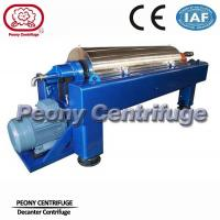 Continuous Ceramic Decanter Centrifuges, 2 Phase Horizontal Centrifuge Decanter Separator