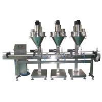 Buy cheap Stainless Steel Rotary Powder Filling Machine Linear Auger Screw 25L / 50L from wholesalers