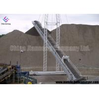 China Oil Resistant Mobile Conveyor System , Long Distance Transmission Portable Conveyor Systems on sale