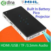 Handy Mini DLP Slim Projector With HDMI USB MHL DLNA Wifi Display LED Lamp Pocket Beamer Manufactures