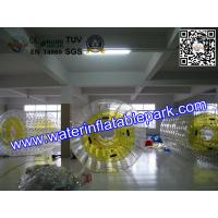 Popular Inflatable Roller Ball With Water Games , Inflatable Fun Roller Manufactures