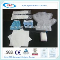 China CE&ISO Approved Surgical Dental Drape Pack with EO Sterile on sale