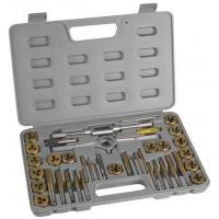 Professional Engineering HSS Metric Finishing Tap and Die Sets 40pcs with DIN352 , DIN223 Manufactures