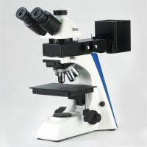 100X Dry Objective Trinocular Metallurgical Microscope Upright Transmitting Reflecting