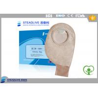 Medical Disposable Two Piece Ostomy pouch Soft Non woven , Use With Flange Manufactures