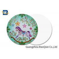 China Whirligig Horse Pattern 3d Printing Business Cards Plsatic PET / PP Material on sale