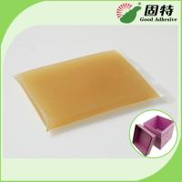 Buy cheap Bookbinding Hot Melt Glue For Book-Facing and Rigid Box Making On Automatic Rigid Box Maker from wholesalers