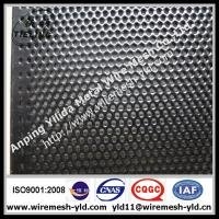 mini hole perforated metal sheet,metal wire mesh with Black PVC coated Manufactures