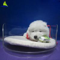 Acrylic Pet Bed Cave House For Dog And Cats Acrylic Dining Room Chairs Manufactures