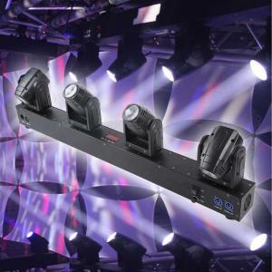 10W Mini RGBW CREE LED Beam Moving 4 Heads DJ Lighting Manufactures
